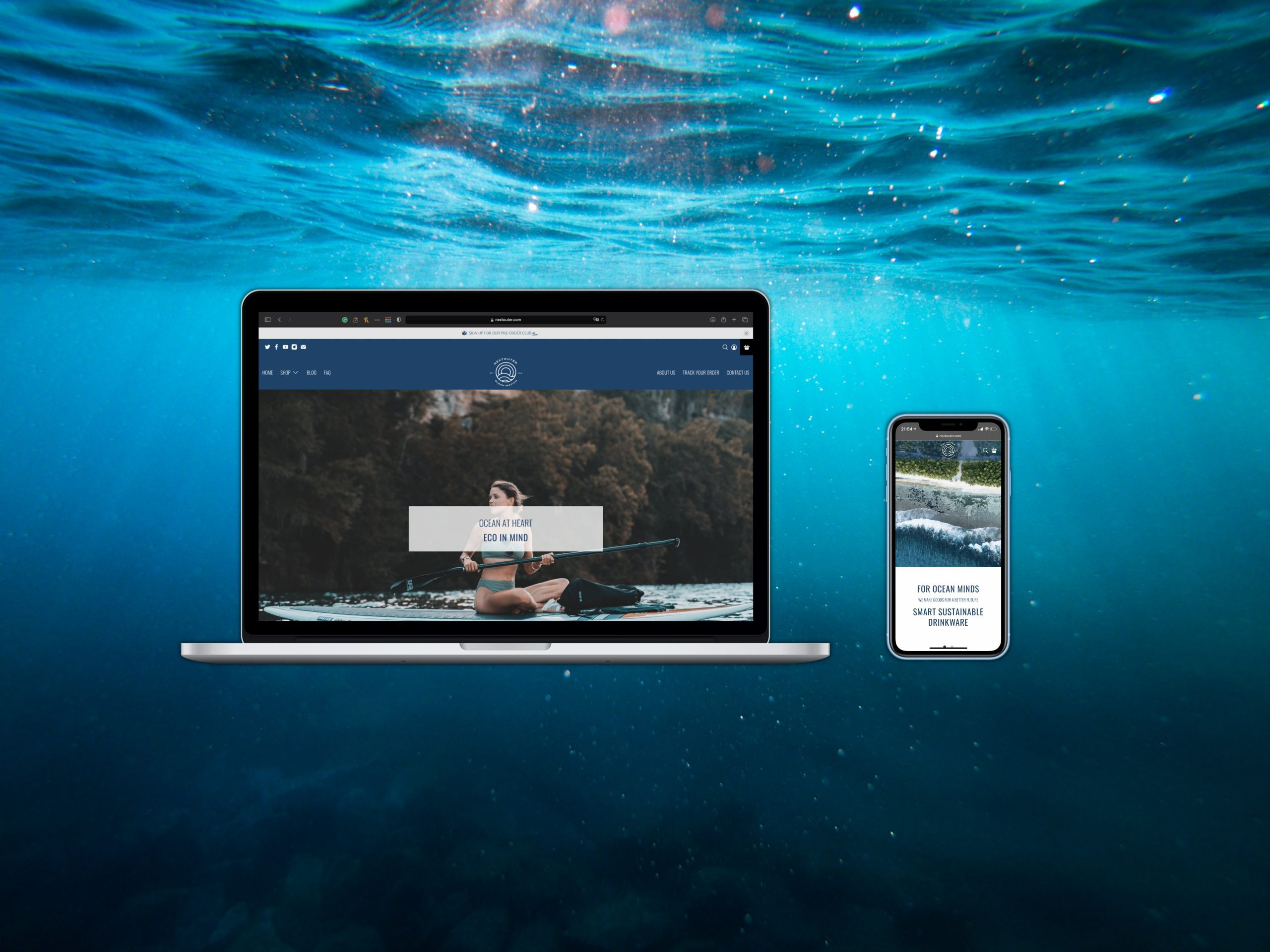 How to build an effective E-commerce Website for your Ocean Friendly Brand